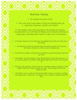 Reciprocal Teaching