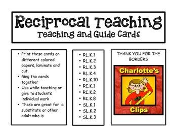 Reciprocal Teaching Cards