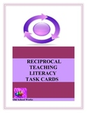 Reciprocal Teaching Literacy Task Cards
