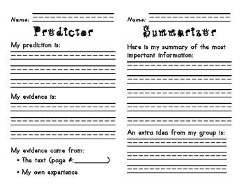Reciprocal Teaching Packets