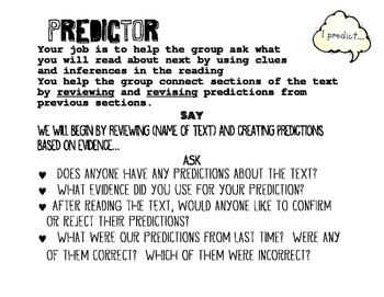 Reciprocal Teaching Posters