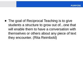 Reciprocal Teaching Powerpoint