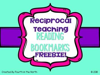 Reciprocal Teaching Reading Bookmark FREEBIE!
