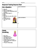 Reciprocal Teaching Recording & Thinking Sheet
