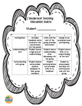 Reciprocal Teaching Rubrics