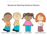 Reciprocal Teaching Sentence Starters
