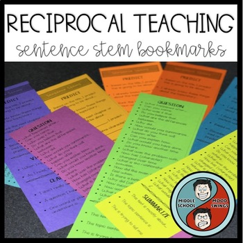 Question Stems Bookmarks Worksheets Teaching Resources TpT