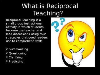 Reciprocal Teaching Strategy PowerPoint
