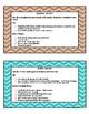 Reciprocal Teaching Task Cards