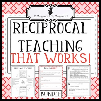Reciprocal Teaching That Works! *Common Core Aligned! All