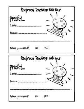 Reciprocal Teaching: The Fab Four!