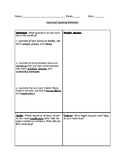 Reciprocal Teaching Worksheet