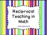Reciprocal Teaching in Math - Candy Stripe Version