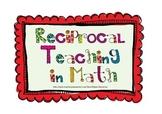 Reciprocal Teaching in Math - original version