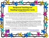 Reciprocal teaching and comprehension instruction cards