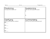 Reciprocal teaching small group worksheet