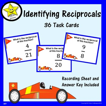 Reciprocals Task Cards