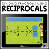 Reciprocals Boom Cards | TEKS 6.3A | Distance Learning