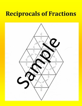 Reciprocals of Fractions – Math Puzzle