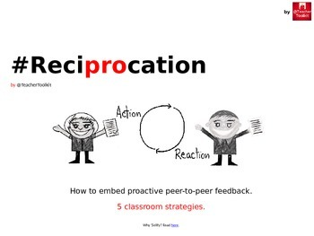 #Reciprocation by @TeacherToolkit