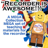 Recorder is AWESOME!!  A GROWING MEGA set of teaching mate