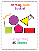 Recognising 2D shapes and their properties