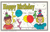 Recognition Awards and Certificates: Happy Birthday Award