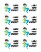 Recognition Badges for Labels or Lanyard