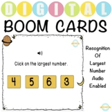 Recognition Of Largest Number with Audio- Boom Cards™