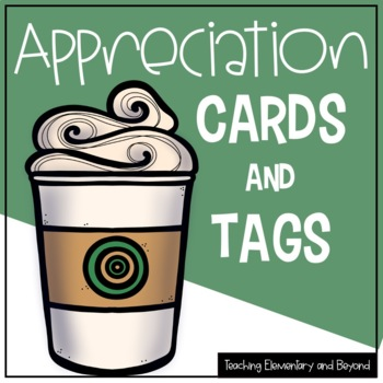 Recognition and Appreciation Gift Tags