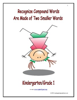 Recognize Compound Words Are Made of Two Smaller Words