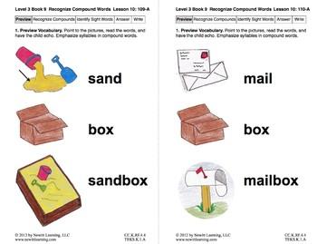 Recognize Compound Words: Lesson 10, Book 9 (Newitt Decoding Series)