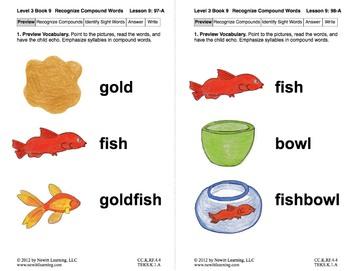 Recognize Compound Words: Lesson 9, Book 9 (Newitt Decoding Series)