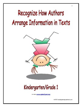 Recognize How Authors Arrange Information in Texts: Introduce/Practice/Assess