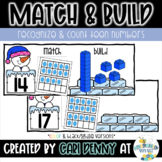 Recognize, Match & Build Teen Numbers (Winter)