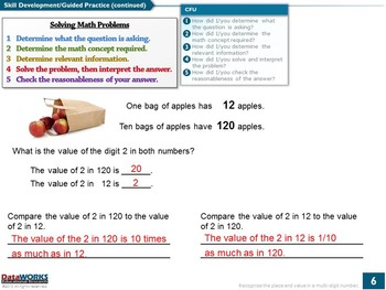 Recognize Place Value in a Multi-Digit Number