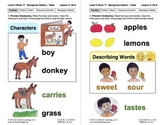 Recognize Sensory Details – Taste: Lesson 5, Book 17 (Newi