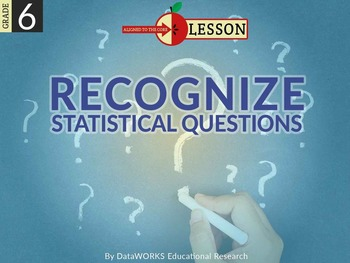 Recognize Statistical Questions
