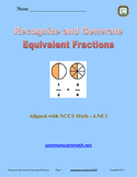 Recognize and Generate Equivalent Fractions - 4.NF.1