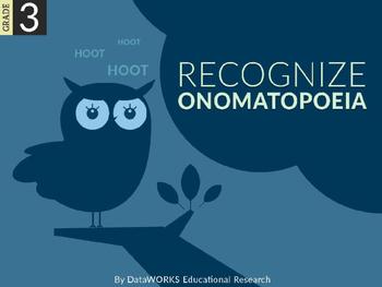 Recognize onomatopoeia