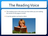 Recognize the Three Reading Voices