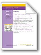 Recognizes Patterns (Math Assessment PreK)