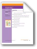 Recognizes Shapes (Math Assessment PreK)