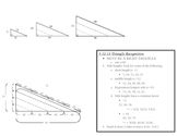 Recognizing 3-4-5 and 5-12-13 Special Right Triangles