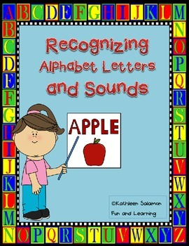 Recognizing Alphabet Letters and sounds