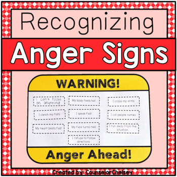 identifying anger anger warning signs activity