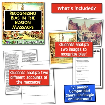 Boston Massacre, American Revolution, and Primary and Secondary Source Analysis!
