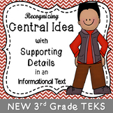 Recognizing Central Idea with Supporting Details in an Informational Text