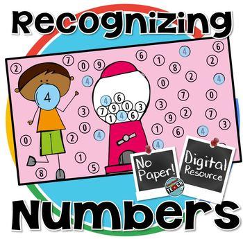 Recognizing Digits 0-9 Digital Resource (Google)
