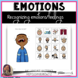 Recognizing Emotions  BOOM Cards for distance learning spe
